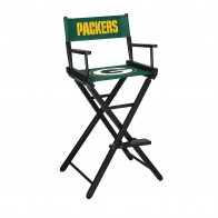 Green Bay Packers Directors Chair Bar Height
