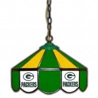 Green Bay Packers 14-Inch Glass Pub Lamp