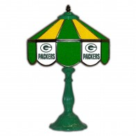 Green Bay Packers 21-Inch Glass Table Lamp