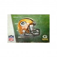 Green Bay Packers Vintage Hand Crafted Metal Wall Art