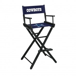 Dallas Cowboys Directors Chair Bar Height