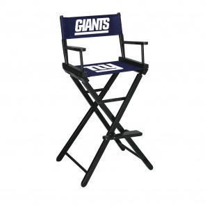 New York Giants Directors Chair Bar Height