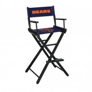 Chicago Bears Directors Chair Bar Height