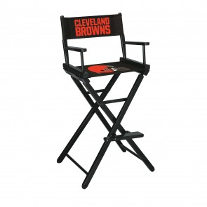 Cleveland Browns Directors Chair Bar Height