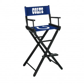 Indianapolis Colts Directors Chair Bar Height