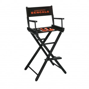 Cincinnati Bengals Directors Chair Bar Height