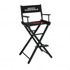 Arizona Cardinals Directors Chair Bar Height