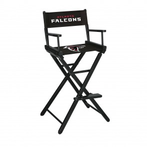 Atlanta Falcons Directors Chair Bar Height