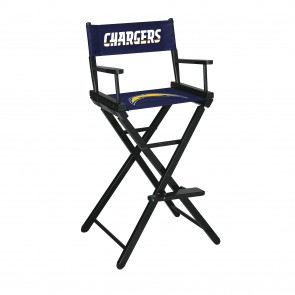 Los Angeles Chargers Directors Chair Bar Height