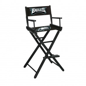 Philadelphia Eagles Directors Chair Bar Height