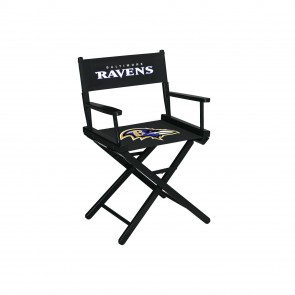 Baltimore Ravens Directors Chair Table Height