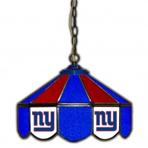 New York Giants 14-Inch Glass Pub Lamp