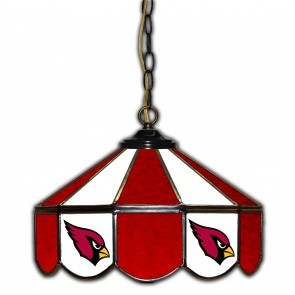 Arizona Cardinals 14-Inch Glass Pub Lamp