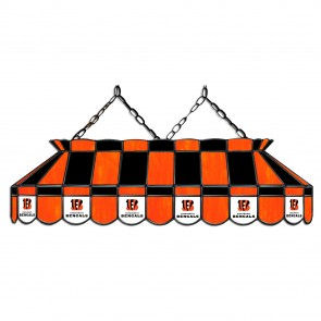 Cincinnati Bengals 40-Inch Glass Lamp