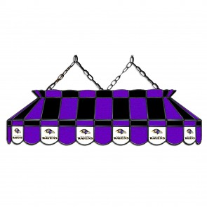 Baltimore Ravens 40-Inch Glass Lamp
