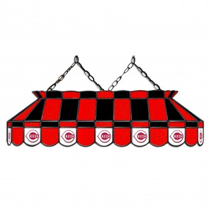 Cincinnati Reds 40-Inch Glass Lamp