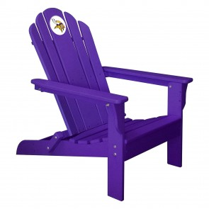 Minnesota Vikings Purple Adirondack Chair  sc 1 st  Rec Room Store & Minnesota Vikings