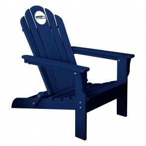 Seattle Seahawks Blue Adirondack Chair
