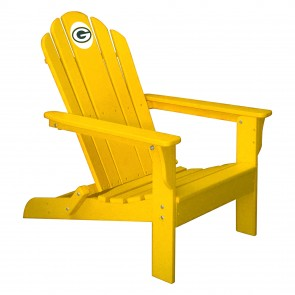Green Bay Packers Yellow Adirondack Chair