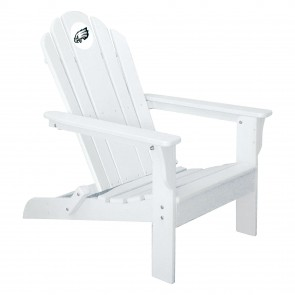 Philadelphia Eagles White Adirondack Chair