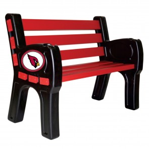 Arizona Cardinals Park Bench