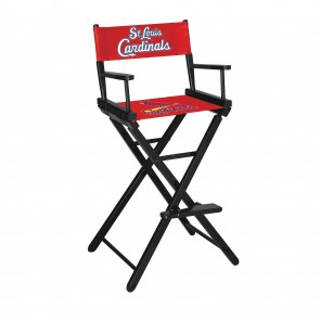 St. Louis Cardinals Directors Chair Bar Height