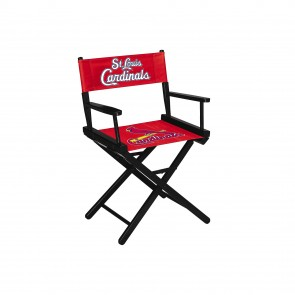 St. Louis Cardinals Directors Chair Table Height