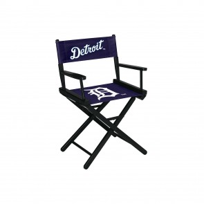 Detroit Tigers Directors Chair Table Height