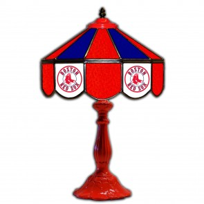 Boston Red Sox 21-Inch Glass Table Lamp