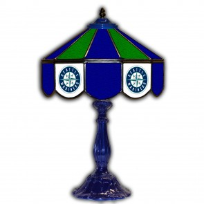 Seattle Mariners 21-Inch Glass Table Lamp