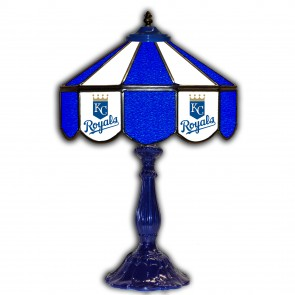 Kansas City Royals 21-Inch Glass Table Lamp