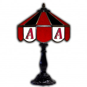 Arizona Diamondbacks 21-Inch Glass Table Lamp
