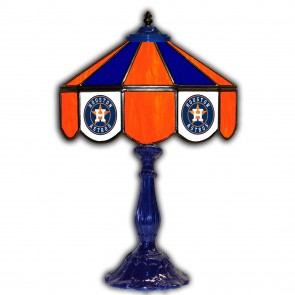 Houston Astros 21-Inch Glass Table Lamp