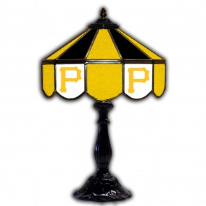 Pittsburgh Pirates 21-Inch Glass Table Lamp