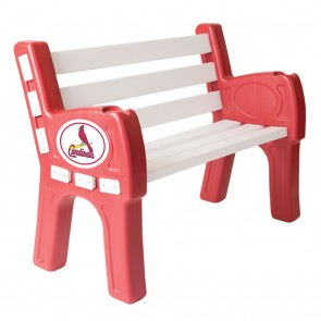 St. Louis Cardinals Park Bench
