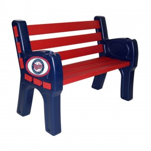 Minnesota Twins Park Bench