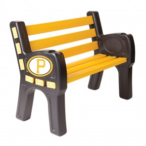Pittsburgh Pirates Park Bench