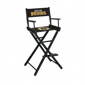 Boston Bruins Directors Chair Bar Height