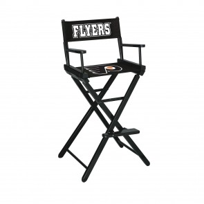 Philadelphia Flyers Directors Chair Bar Height