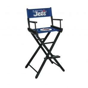 Winnipeg Jets Directors Chair Bar Height