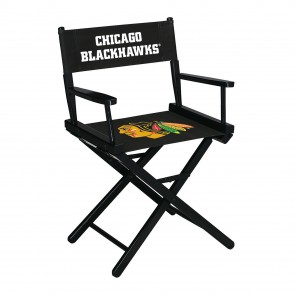 Chicago Blackhawks Directors Chair Table Height