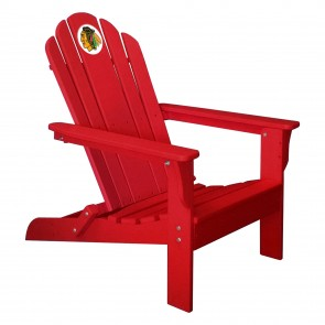 Chicago Blackhawks Red Adirondack Chair