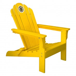 Boston Bruins Yellow Adirondack Chair