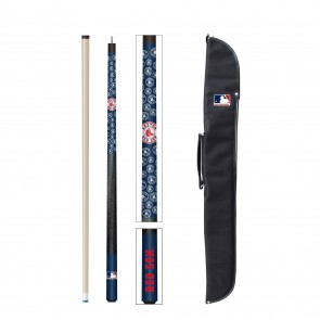 Boston Red Sox Cue and Case Combo Set