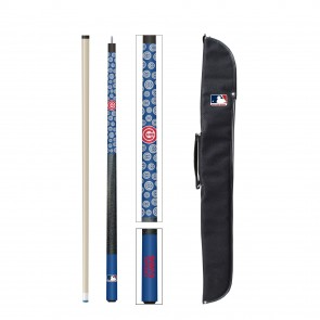 Chicago Cubs Cue and Case Combo Set