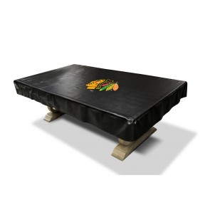 Chicago Blackhawks 8' Deluxe Pool Table Cover