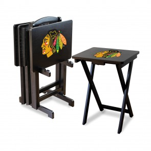 Chicago Blackhawks TV Trays