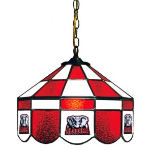 "Alabama Elephant 14"" Executive Swag Hanging Lamp"