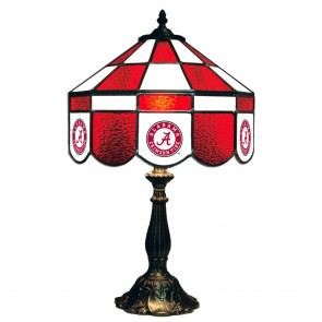 "Alabama Script A 14"" Executive Table Lamp"