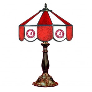 "Alabama Script A 14"" Table Lamp"